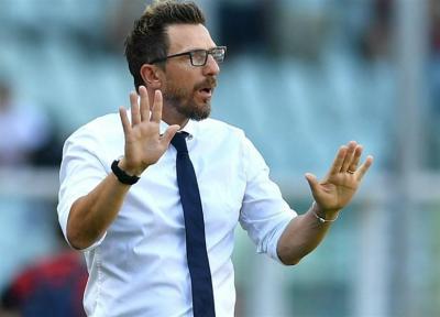 دی فرانچسکو: رم همیشه رویکردی هجومی دارد، 2 بازیکن مهم مان را در تابستان از دست دادیم