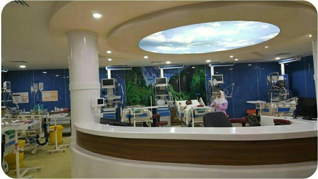 شبکه برق اضطراری بیمارستان خاتم الانبیاء ص زاهدان فعال است