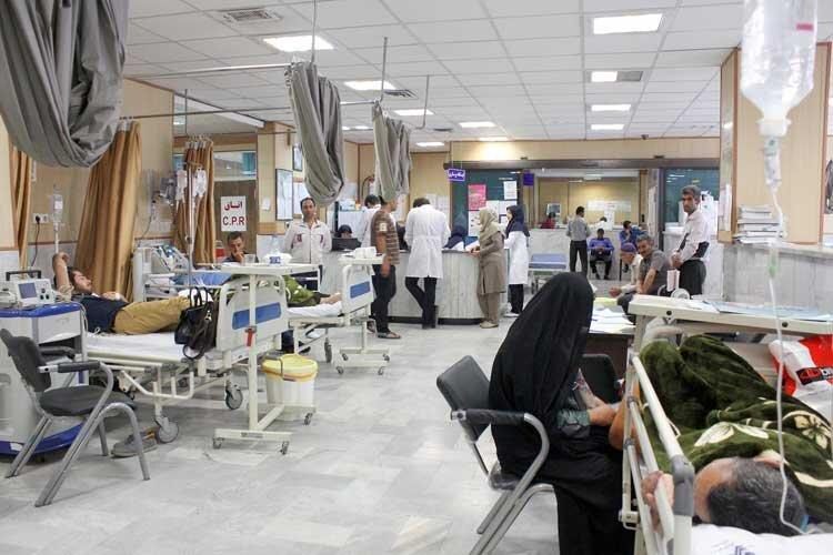 بیمارستان های قزوین در کما