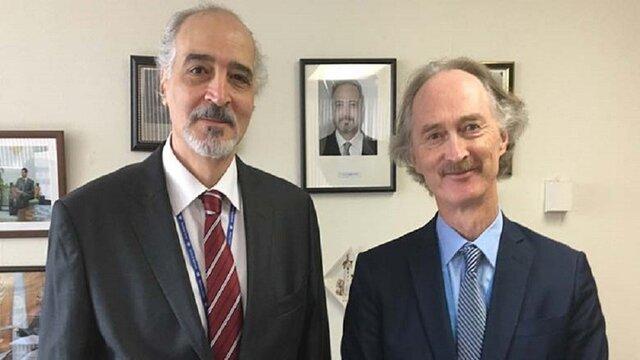 پدرسن در حال اجرا آخرین اصلاحات در خصوص ساختار کمیته قانون اساسی سوریه