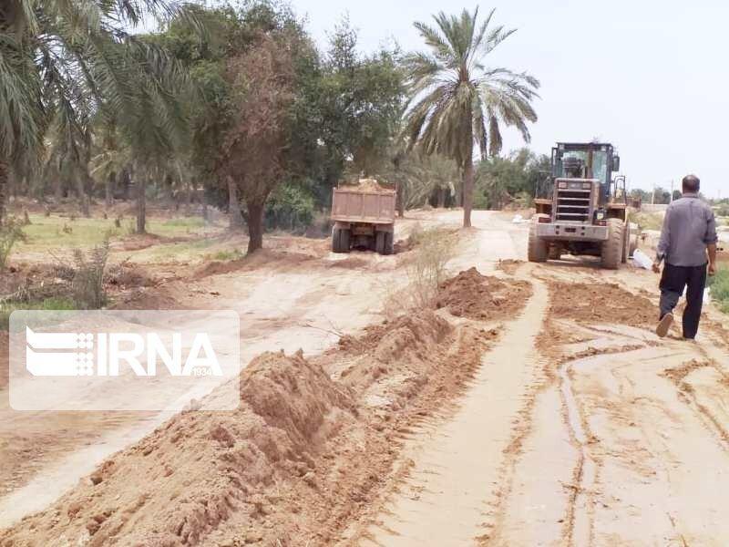 خبرنگاران سیلاب روستاهای خوزستان را تهدید نمی کند