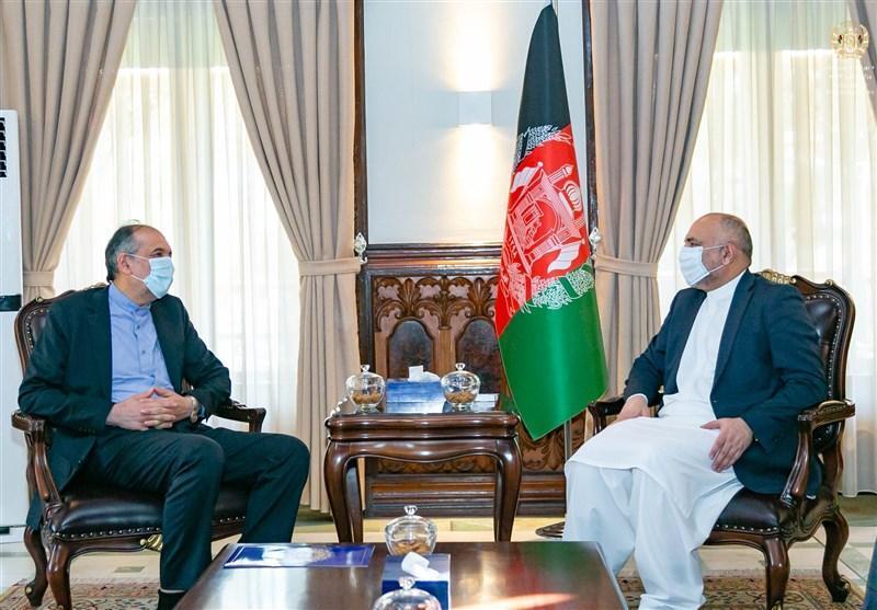 صلح و مذاکرات بین الافغانی محور ملاقات اتمر و امینیان