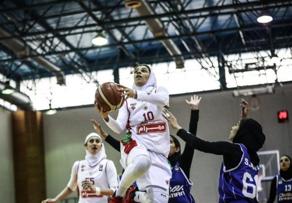 لیگ برتر بسکتبال بانوان، پیروزی مهرام در بازی نخست فینال